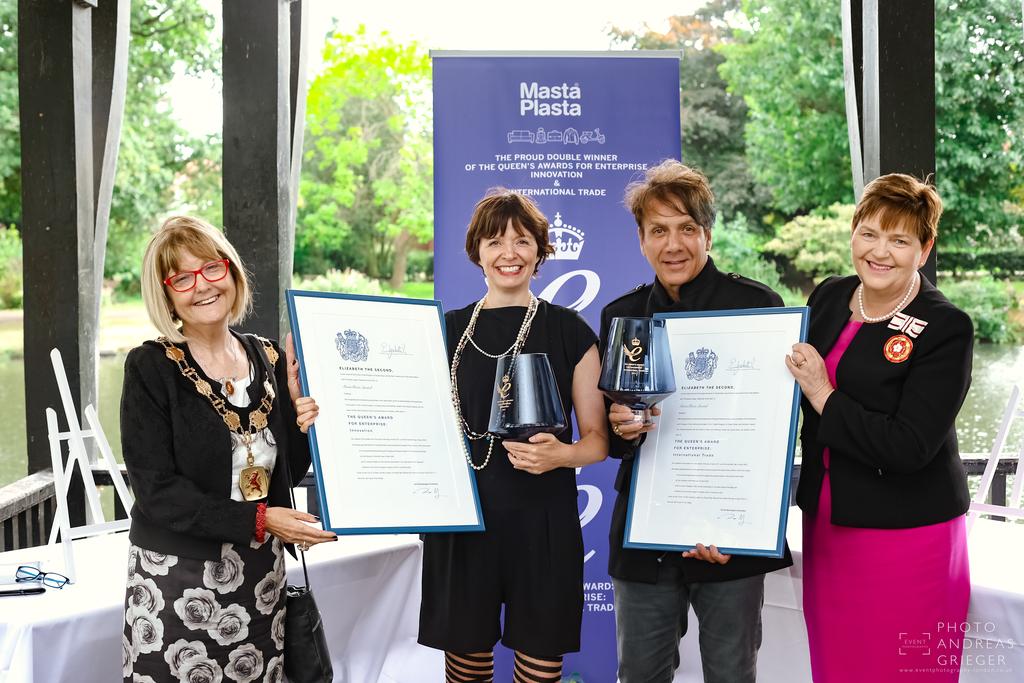 Queen's Awards for Enterprise  |  Masta Plasta