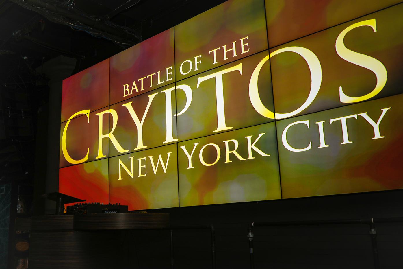 Battle of the Cryptos – Reception | New York